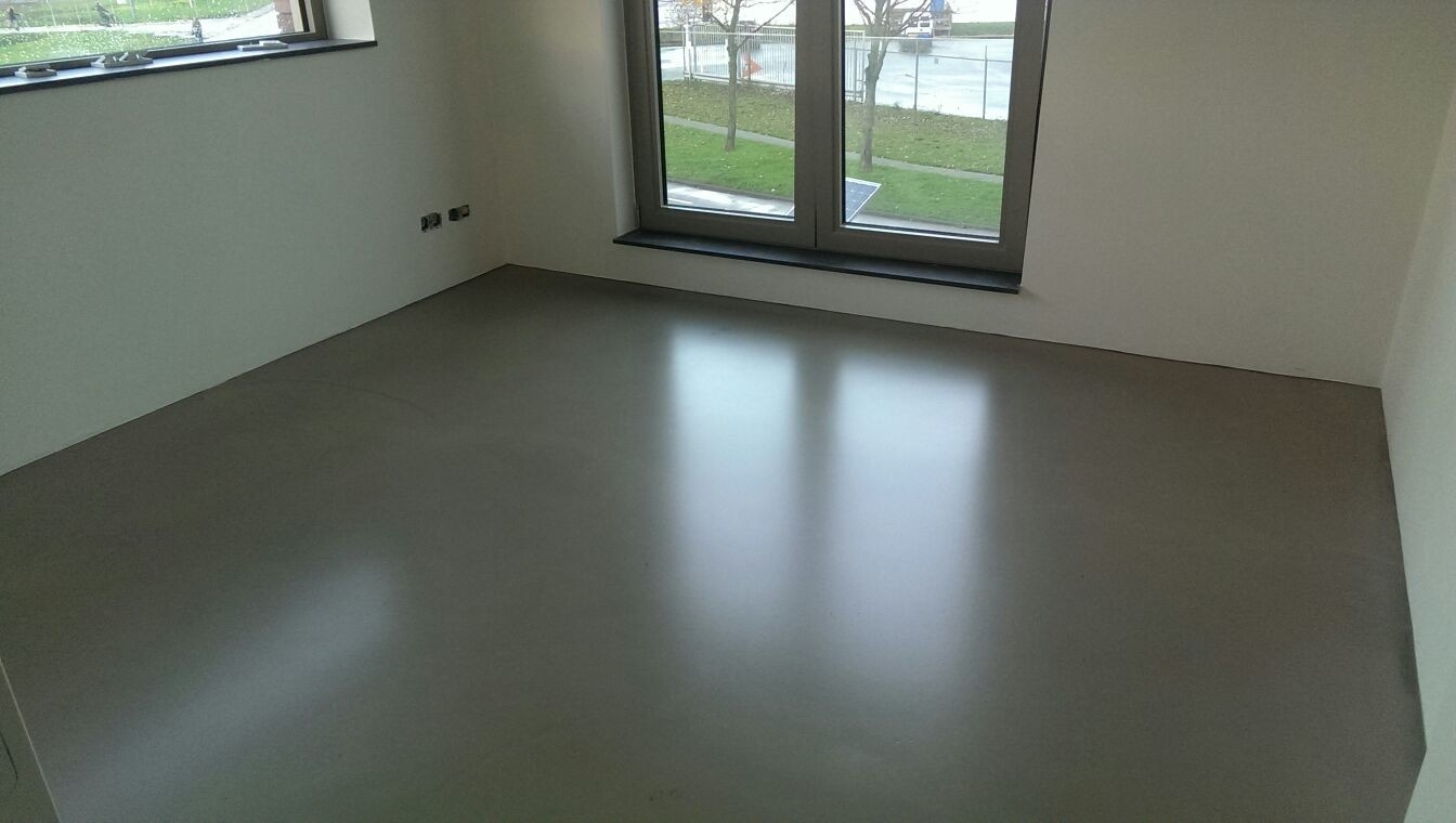Minerale Betonlook Dufloor Project Woninginrichting