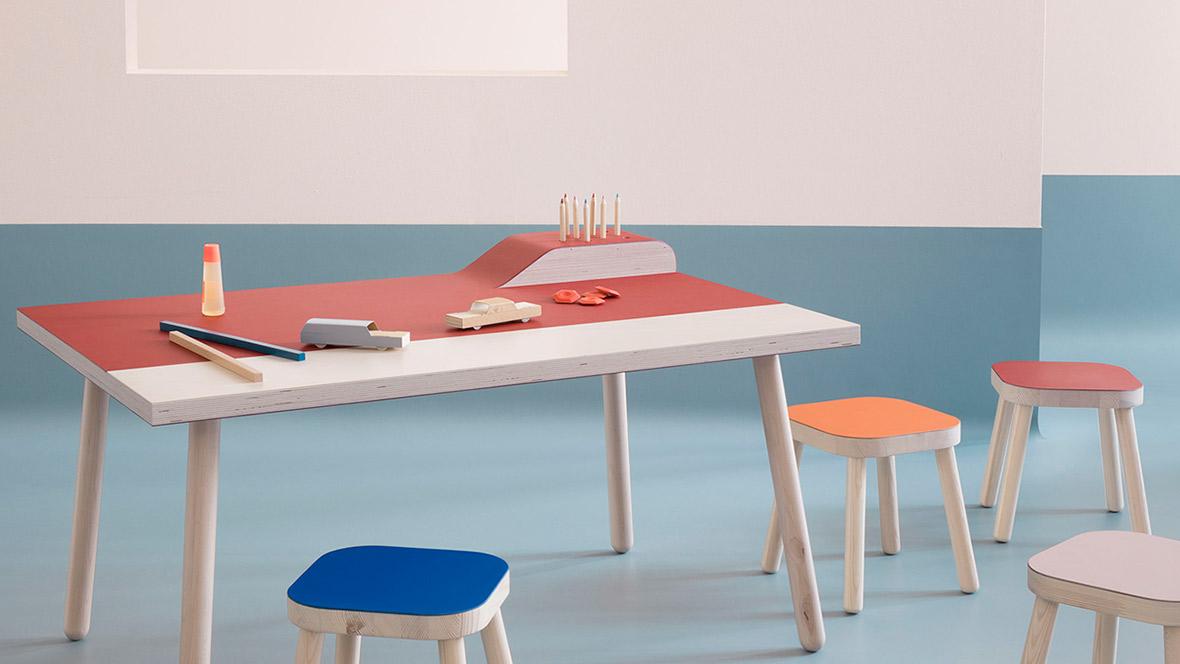 Furniture linoleum dufloor project woninginrichting