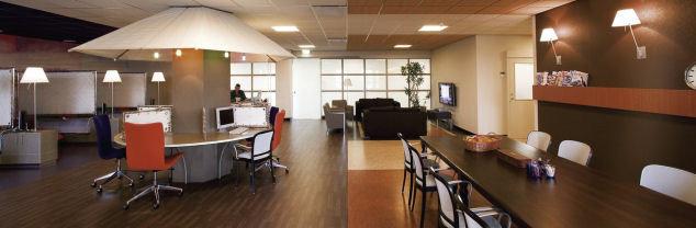 Of het nu gaat om een vloer voor een verzorgingshuis, een retail vloer of een esd vloer.  Forbo projectvinyl