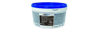 Xtrafloor Voegenpasta LVT vloeren 1 liter bruin ( RAL 8025 )